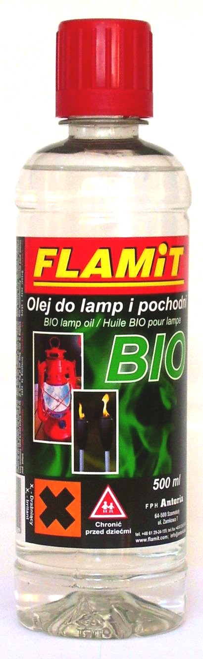 Olej do lamp i pochodni BIO 500ml